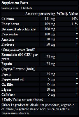 Multi-enzyme