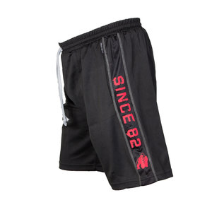 Functional Mesh Shorts  Svart/Röd