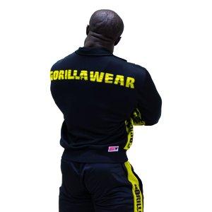Track Jacket    black/yellow
