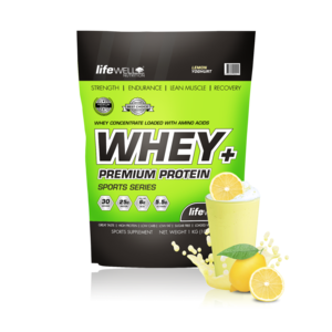 LifeWell Nutrition Whey+ 1000g Lemon Yoghurt