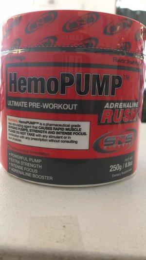 HemoPump Adrenaline Rush