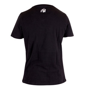 Sacramento V-Neck Tee, black/white