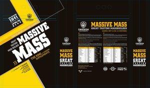 MASSIVE MASS 3,5KG  Vanilla
