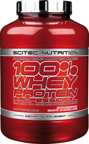 100% Whey Protein Professional 2350  Strawberry/ White chocolate