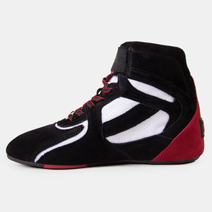 Chicago High Tops, black/white/red
