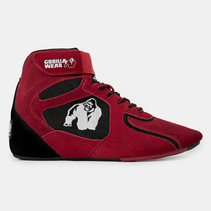 Chicago High Tops, red/black