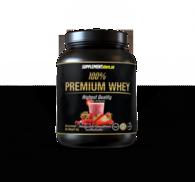 100% Premium Whey   Jordgubb/Smultron Milkshake