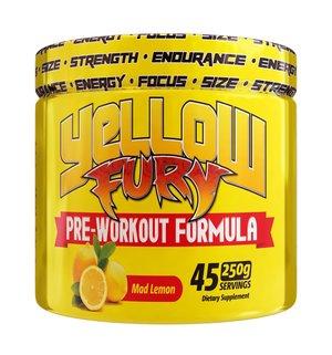 Yellow Fury Mad Lemon