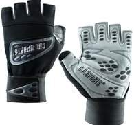 Wrist Wrap Glove, black/grey