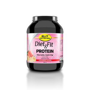 DIET & FIT PROTEIN - STRAWBERRY BANANA