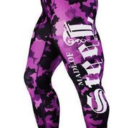 """MADE OF STEEL """"STREET CAMO TIGHTS"""" PINK"""