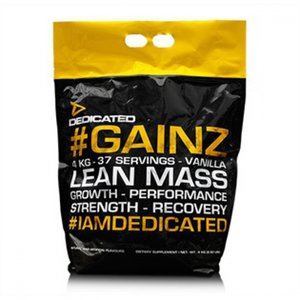 Dedicated #Gainz™ 4 kg   Vanilj