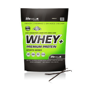LifeWell Nutrition Whey+  Vanilj