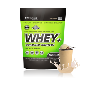 LifeWell Nutrition Whey+ 1000g Irish Cream