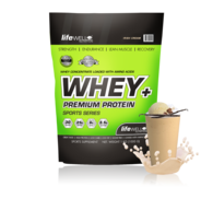 LifeWell Nutrition Whey+ 1000g Irish Cream