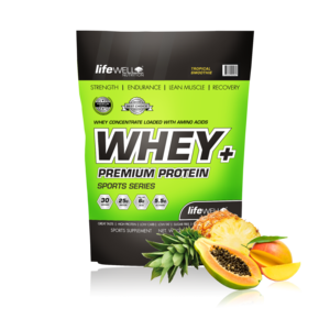 LifeWell Nutrition Whey+ 1000g Tropical Smoothie
