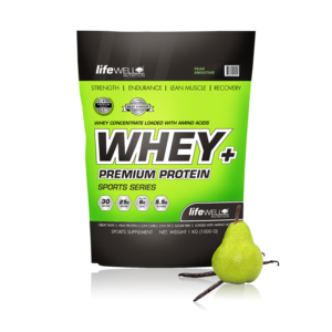 LifeWell Nutrition Whey+ 1000g Pear Smoothie