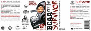 BCAA Survivor Engine     Gummiberry Juice