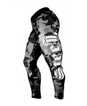 "MADE OF STEEL ""STREET CAMO TIGHTS"" GREY"