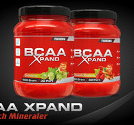BCAA XPand Rhubarb/Rasberry