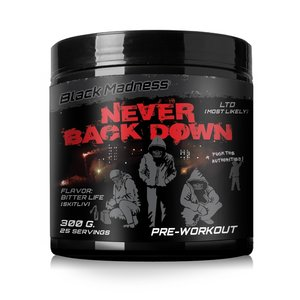 Black Madness PWO Never Back Down