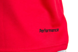 Performance Tee, red