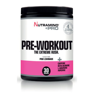 Nutramino +Pro Pre-Workout Powder