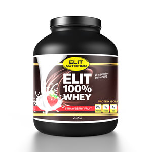 ELIT 100% WHEY ISOLATE, STRAWBERRY FRUIT