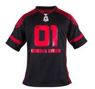 GW Athlete Tee (Big Ramy), svart/röd