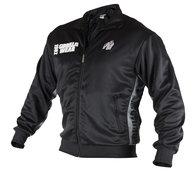 Track Jacket, black/grey