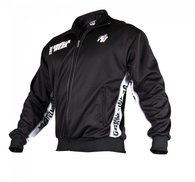 Track Jacket, black/white