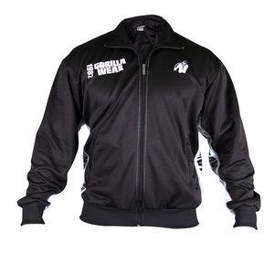 Track Jacket, black/white