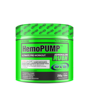 HemoPump Adrenaline Rush   Green Punch