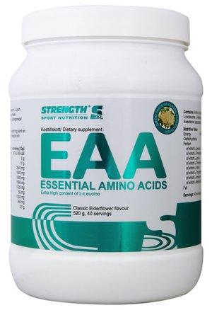 EAA Essential Amino Acids     Elderflower