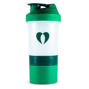 PurePharma Shaker Bottle White & Green 600 ml