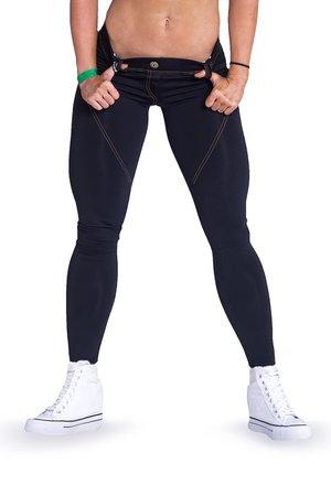 Bubble Butt Pants Revolution, black