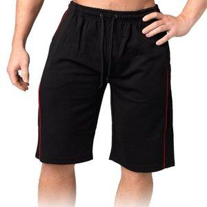 Comfy Mesh Shorts svart/röd
