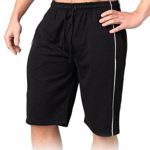 Comfy Mesh Shorts svart/vit