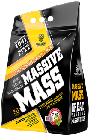 Massive Mass Gainer 3,5kg  Wild Strawberry