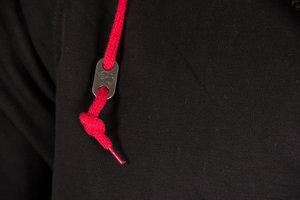 Classic Zipped Hoodie, black
