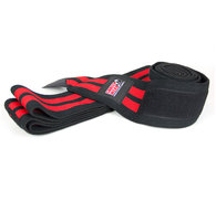 Knee Wraps, black/red, 2 m