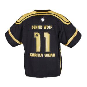 GW Athlete Tee (Dennis Wolf), svart/guld