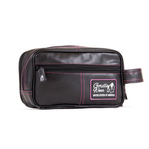 Toiletry Bag, black/pink