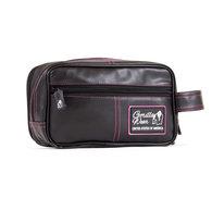 Toiletry Bag, black/pink