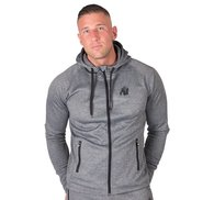 Bridgeport Zipped Hoodie, dark grey