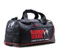 Jerome Gym Bag, black/red