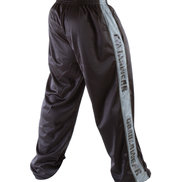 Track Pants, black/grey