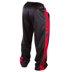 Track Pants, black/red