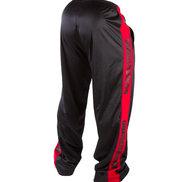 Track Pants, black/red