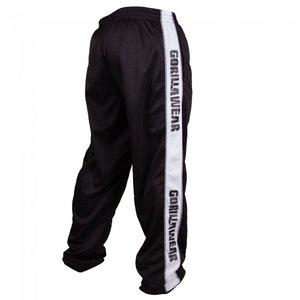 Track Pants, black/white